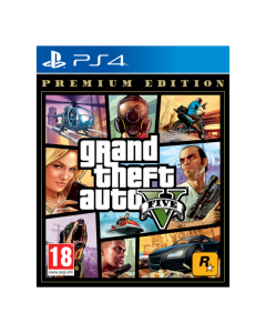 משחק Gta v premium editionל PS4