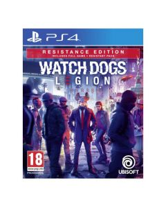 מכירה מוקדמת משחק WATCH DOGS LEGION RESISTANCE EDITION ל PS4