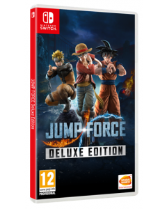 מכירה מוקדמת משחק JUMP FORCE DELUXE EDITION ל NINTENDO SWITCH
