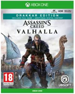 מכירה מוקדמת משחק ASSASSIN'S CREED VALHALLA DRAKKAR SPECIAL D1 EDITION ל XBOX ONE