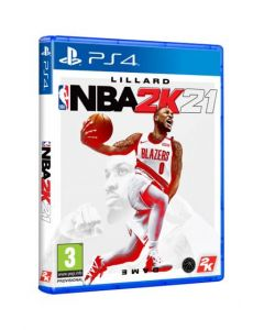 משחק NBA 2k21 standard editionל PS4